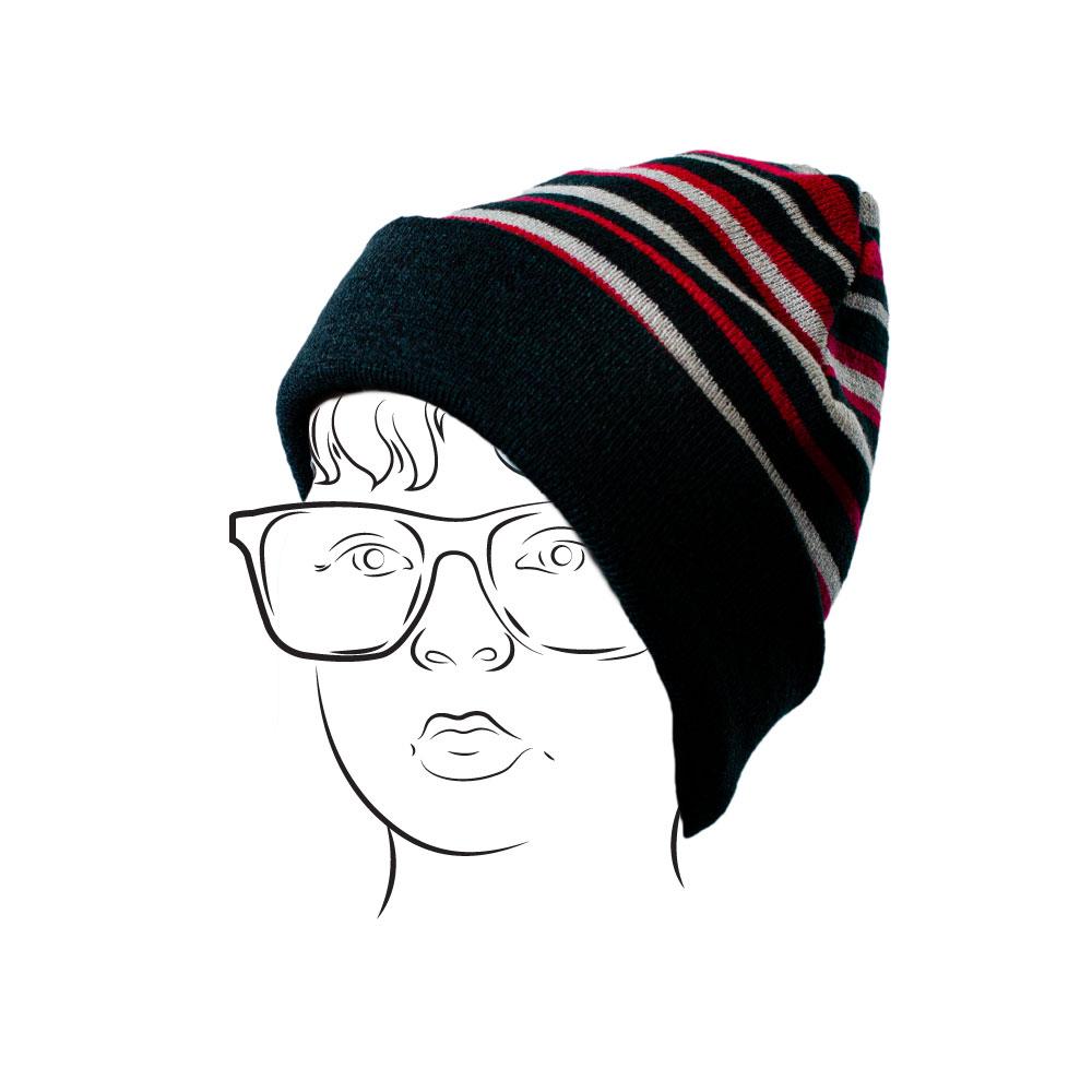 Beanie - Stripe Asst2